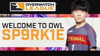 SP9RK1E, Welcome to the Overwatch League!
