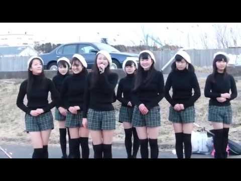 仙台市中野小学校地区・ORI☆姫隊復興支援追悼パフォーマンス(2015/3/11)