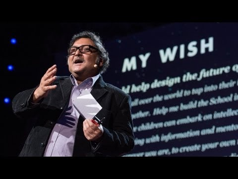 Sugata Mitra: Build a School in the Cloud (TED 2013)