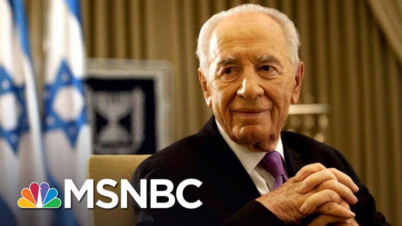 World Says Farewell To Shimon Peres   Andrea Mitchell   MSNBC thumbnail