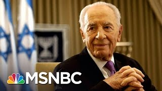 World Says Farewell To Shimon Peres | Andrea Mitchell | MSNBC thumbnail