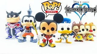 Funko Pop Vinyl Kingdom Hearts Wave 1 Figures Review