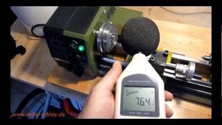 Proxxon PD 230/E Drehmaschine Test Montage Zubehör