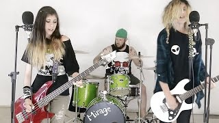 City of Angels by The Distillers Full Band Cover (bass, guitar, drums, vocals/vocal) HD