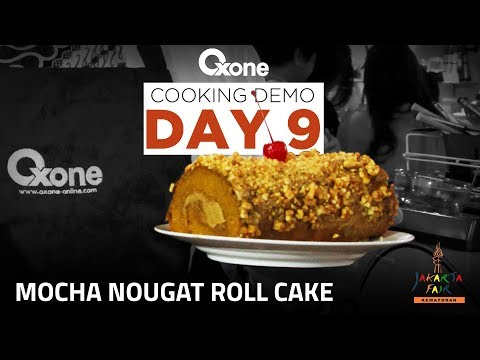 Mocha Nougat Roll Cake By Chef Thomas Law #CookingDemoDay9