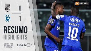 Highlights | Resumo: Vitória SC 0-1 Belenenses (Liga 20/21 #1)