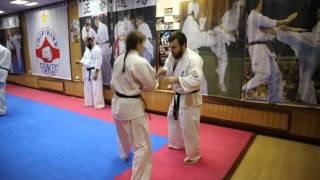 Tariel Nikoleishvili & Anastasiya Khripunova / Чемпионская набивка в киокушинкай