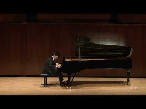 Chopin's 4th Scherzo, live at Juilliard!