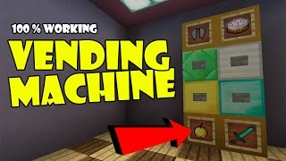 mcpe redstone tutorial vending machine - TH-Clip