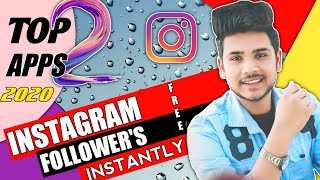 Top 2 Apps For Increasing Instagram Followers    2020   How to increase Followers on Instagram   