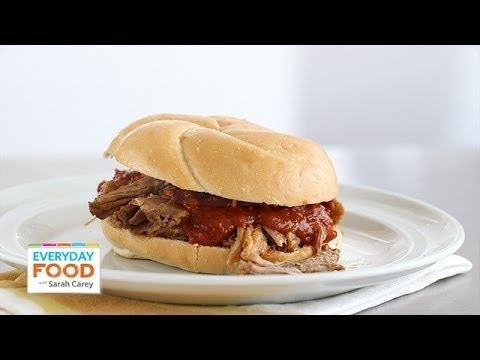 Southern Pulled-Pork Sandwiches – Everyday Food with Sarah Carey