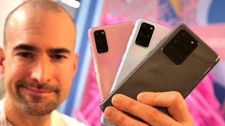 Samsung Galaxy S20 vs Plus vs Ultra | Side-by-side comparison