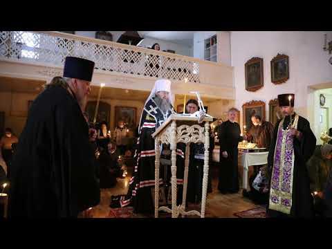 Митрополит Даниил:  Покаянный канон воздействует на сердце человека