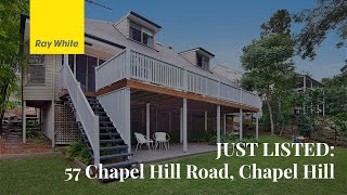 JUST LISTED: 57 Chapel Hill Road, Chapel Hil