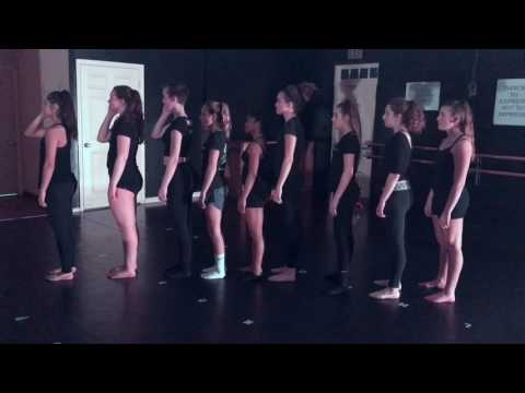 Quick little dance combination I taught in my contemporary dance class a few years ago.