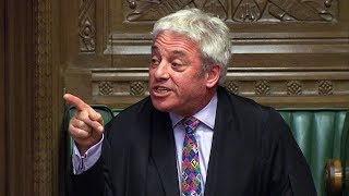 video: Biased? Moi? As Tory Brexiteers fumed, John Bercow was in his element