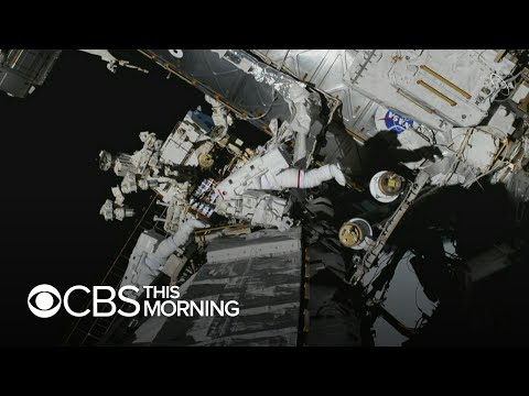 NASA's first all-female spacewalk goes off without a hitch