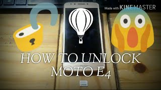 how to unlock moto e4 sprint - Kênh video giải trí dành cho