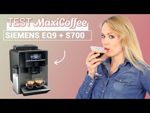 SIEMENS EQ 9+ S700 Home Connect TI9573X5RW | Machine à café grain | Le Test MaxiCoffee