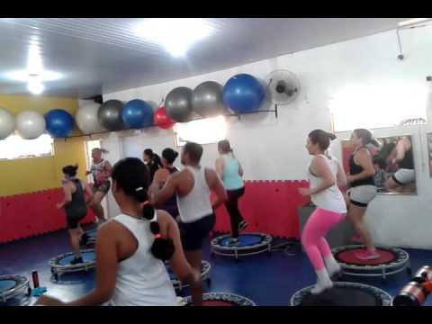 Aerobics per perdita di peso con Oksana Veselova tutte le parti di video