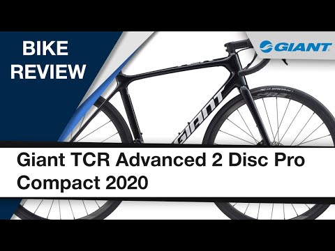 Видео о Велосипед Giant TCR Advanced 2 Disc Pro Compact Metallic Black/White 2000066105