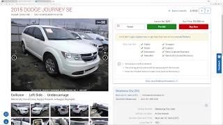 How-to Flip Cars - Copart - IAA - eRepairables