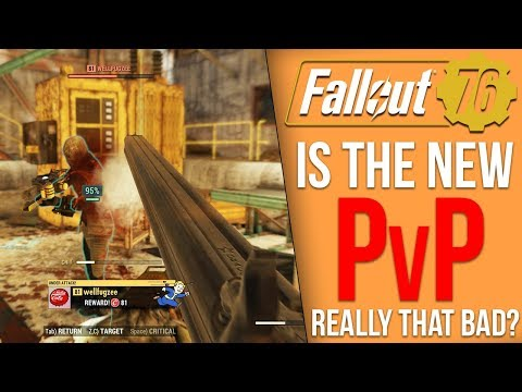 Is Fallout 76's PvP Really That Bad?