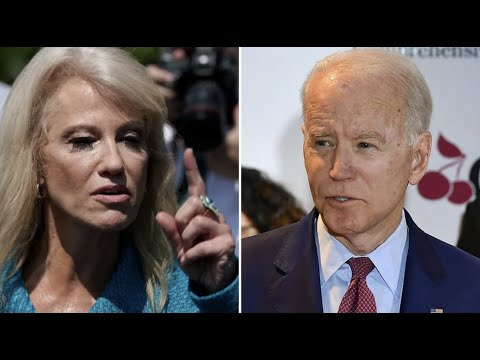 "Kellyanne Conway says she wants to punch Joe Biden ""in the nose"""