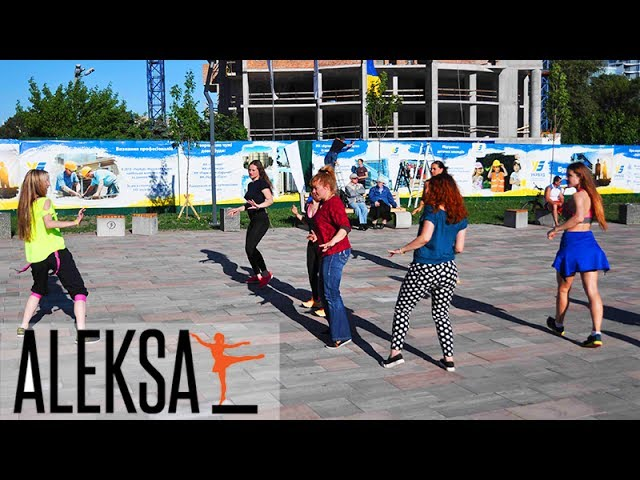 Zumba на свежем воздухе. Zumba Fest (Зумба фитнес фест) от Aleksa Studio