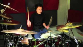 Melle plays Better Now from Sterr (drumcover)
