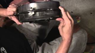 Toyota Sienna- How To Install New 6x9 Speaker Using The Old Stock Speaker