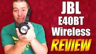 Inexpensive Bluetooth Headphones: JBL E40BT Wireless REVIEW!