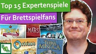 Top15 Expertenspiele | Meine besten Expertenspiele und Eurogames