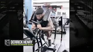Derrick Henry's INSANE workout routine