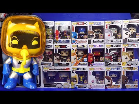 aafc2621bab Unboxing My 21 2017 SDCC Exclusive Funko Pop Vinyl Figures San Diego Comic  Con Video play