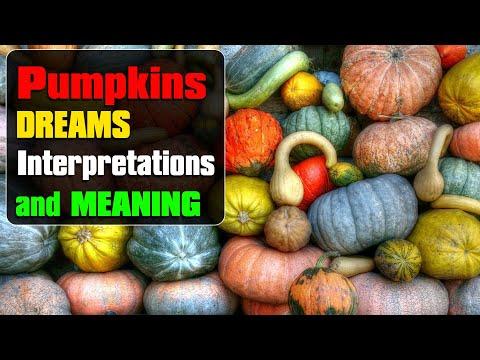 Dreams About a Pumpkin - Pumpkins Dream Meaning, Interpretations and Symbolism.