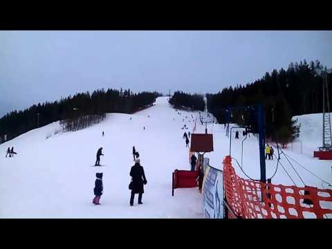 Видео: Видео горнолыжного курорта Федотово Горнолыжный комплекс в Татарстан