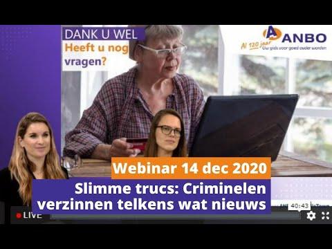 ANBO webinar online veiligheid 3 - Slimme trucs criminelen verzinnen telkens wat nieuws