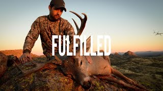 "112"" Mexico Coues Deer Hunt ""Fulfilled"""