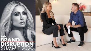 Paris Hilton's first time being interviewed by boyfriend Carter Reum
