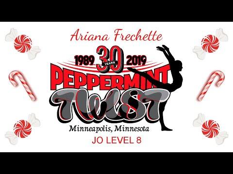 Peppermint Twist 🍭 JO Level 8 | Ariana All-Around Champion