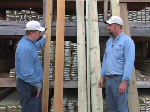 Video home treated lumber