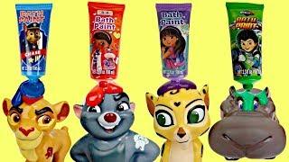 Disney Jr. LION GUARD Finger Bath Paint