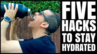 Are You Dehydrated? 5 Tips On How To Stay Hydrated / Healthy Hacks