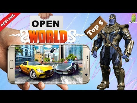 Top 5 Android offline open world games | Hindi - AndroKing