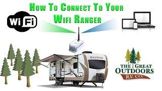 RV WiFi Extender & Booster WiFiRanger Sky How To Connect Walkthrough Colorado RV Camper Dealer