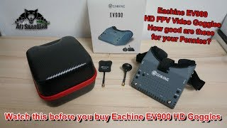 Watch this before you buy Eachine EV900 1080P HD FPV Video Goggles