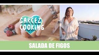 Garcez Cooking - Salada de Figos com molho especial