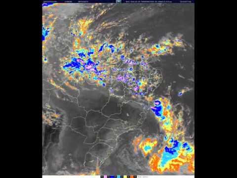 Violento Sistema de Tempestades no litoral da Bahia em 07/04/10