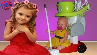 Детский игровой набор для уборки   Игрушки для детей   Children